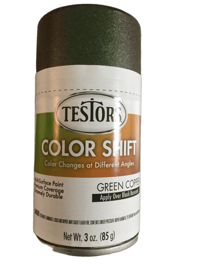 Testors Colorshift Green Copper 3 oz Spray Can 340911 - Shore Line Hobby