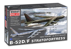 Minicraft 14734 B-52D/F Stratofortress 1/144 Plastic Model Airplane Kit