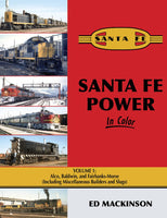 Santa Fe Power In Color V1: Alco, Baldwin, & FM (incl. misc. Builders & Slugs) - Shore Line Hobby