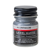 Testors 1781 Aluminum Enamel Paint 1/2 oz Bottle - shore-line-hobby