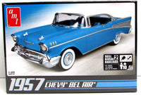 1957 Chevy Bel Air AMT 638 1/25 Classic Car Plastic Model Kit - Shore Line Hobby