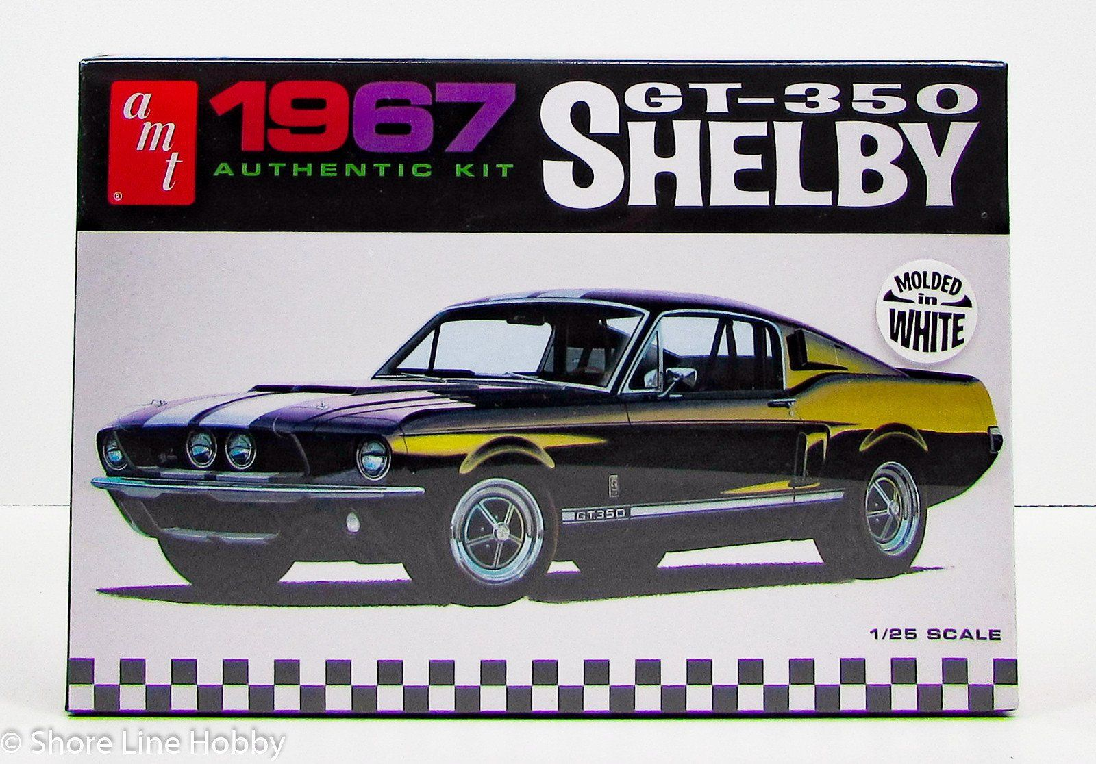 Shelby Gt  Ford Mustang Amt  New Car Model Kit