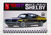 1967 Shelby GT-350 Ford Mustang AMT 800 1/25 New Car Model Kit - Shore Line Hobby