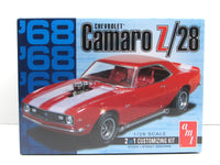 1968 Chevy Camaro Z/28 AMT 868 1/25 Scale New Car Model Kit - Shore Line Hobby
