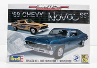 1969 Chevy Nova SS Special Edition Revell 85-2098 1/25 New Car Plastic Model Kit - Shore Line Hobby