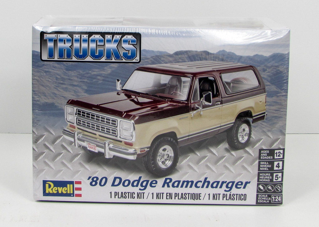 Revell  1980 Dodge Ramcharger Truck Model Kit 1/24 85-4372 - Shore Line Hobby