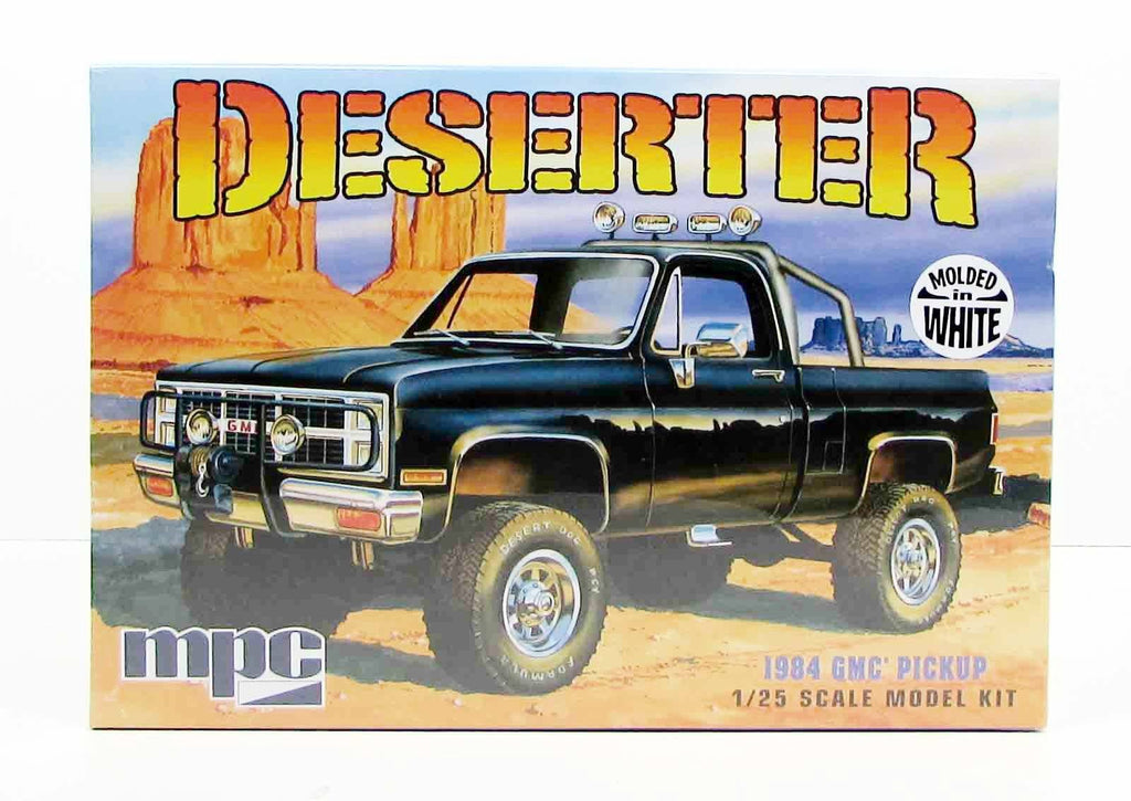 1984 GMC Pickup Deserter MPC 847 1/25 New Truck Model Kit - Shore Line Hobby
