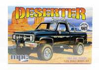 1984 GMC Pickup Deserter MPC 847 1/25 New Truck Model Kit - Shore Line Hobby  - 1