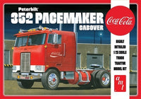 Peterbilt 352 Pacemaker Cabover Coca-Cola AMT 1090 1/25 Plastic Model Truck Kit - shore-line-hobby