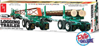AMT Peerless Logging Trailer 1/25 1103 Plastic Model Kit - shore-line-hobby