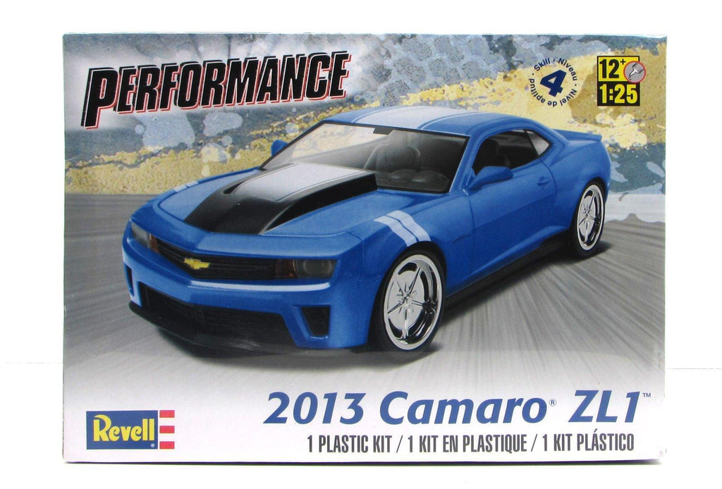 2013 Camaro ZL1 Revell 85-4370 1/25 New Car Model Kit - shore-line-hobby