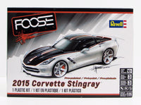2015 Corvette Stingray Revell 85-4397 1/25 New Car Model Kit - Shore Line Hobby