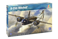 B-25G Mitchell Bomber Italeri 2787 1/48 Plastic Model Kit
