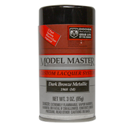 Dark Bronze Metallic, Dodge® - Gloss Testors 28111 3oz. Spray Auto Lacquer