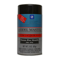 Nassau Blue Metallic, Chevy® Testors 28128 3oz Spray Can Lacquer Paint - shore-line-hobby