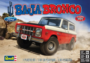1971 Bill Stroppe Baja Bronco 1/25 Revell-Monogram 85-4436 Truck Model Kit