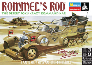 Revell Tom Daniel's Rommel's Rod Plastic Model Car Kit 1/25 4484