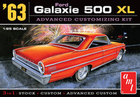1963 Ford Galaxie 500 XL Advanced Customizing Kit (3 in 1) 1/25 AMT Models - Shore Line Hobby
