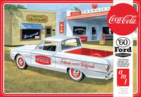 AMT 1960 Ford Ranchero w/Coke Chest & 2 Crates Plastic Model Kit 1/25 1189 - Shore Line Hobby
