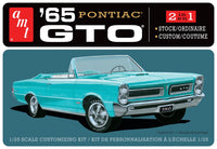 AMT 1965 Pontiac GTO Stock/Custom Plastic Model Kit 1/25 1191 - Shore Line Hobby