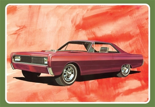 1966 Mercury Super Street Rod AMT 1098 1/25 Plastic Model Kit - shore-line-hobby