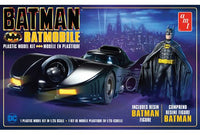 Batman 1989 Batmobile with Resin Figure AMT 1107 Plastic Model Kit - shore-line-hobby