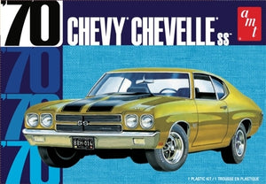 1970 Chevy Chevelle 1/25 AMT 1143 Plastic Model Kit