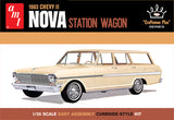 "AMT 1963 Chevy II Nova Station Wagon ""Craftsman Plus Series"" 1:25 1202 - Shore Line Hobby"