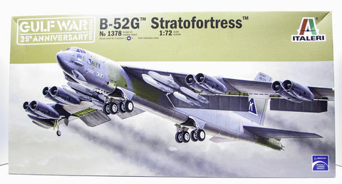 B-52G Stratofortress Gulf War 25 Years Italeri 1378 1/72 New Aircraft Model Kit