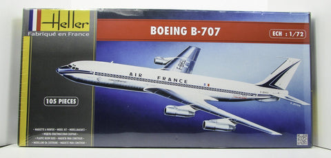 Heller 80452 Boeing B-707 1/72 New Airplane Model Kit