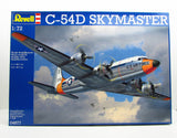 C-54D Skymaster Revell 04877 1/72 New Plastic Model Airplane Kit - shore-line-hobby