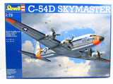 C-54D Skymaster Revell 04877 1/72 New Plastic Model Airplane Kit - Shore Line Hobby