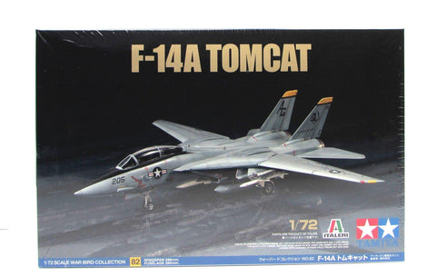 F-14A Tomcat Tamiya 60782 1/72 New Airplane Model Kit