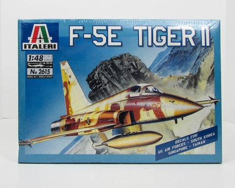 F-5E Tiger II 1/48  Italeri 2615 New Airplane Model Kit