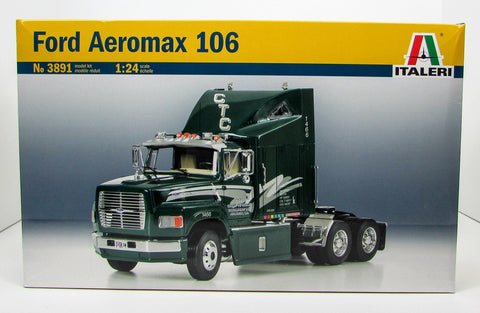 Ford Aeromax 106 Truck Tractor Italeri 3891 1/24 New Plastic Model Kit