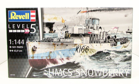 Revell HMCS Snowberry 1/144 New Ship Model Kit 05132