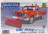 GMC Pickup Truck with Snow Plow Revell 85-7222 1/24 - Shore Line Hobby