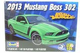2013 Ford Mustang Boss 302  Revell kit #85-4187 1/25 Scale New Model Kit - Shore Line Hobby