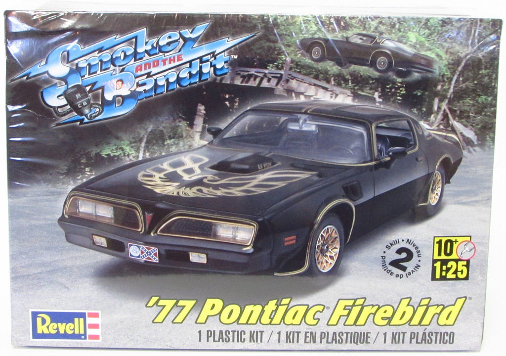 "1977 Pontiac Firebird ""Smokey and the Bandit"" Revell #85-4027 1/25 Scale New 2013 - Shore Line Hobby"