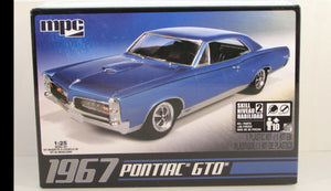 1967 Pontiac GTO MPC 710 1/25 Car Plastic Model Kit - shore-line-hobby