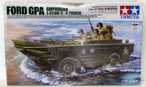 Ford GPA Amphibian 1/4 ton Truck Tamiya #35336 1/35 New Military Model Kit