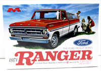 1971 Ford Ranger Pickup XLT Moebius 1208 1/25 Truck Model Kit - shore-line-hobby