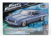 Fast & Furious 1969 Chevy Camaro Yenko Revell 85-4314 1/25 New Car Model Kit - shore-line-hobby