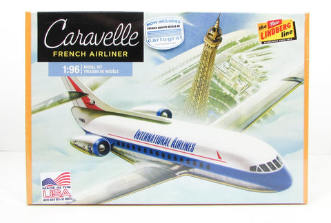 Caravelle French Airliner Lindberg 513  New Airplane Model Kit