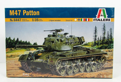M47 Patton US Army Tank Italeri 6447 1/35 New Armor Model Kit