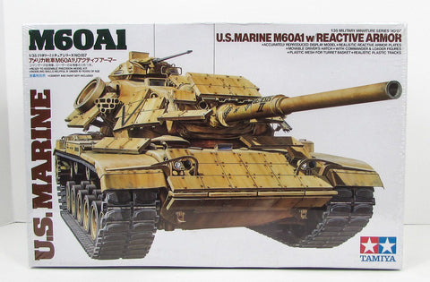 US Marine M60A1 w/Reactive Armor Tamiya 35157 1/35 New Armor Model Kit