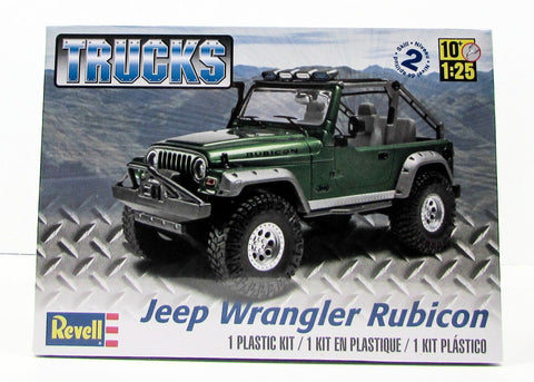 Jeep Wrangler Rubicon Revell 85-4503 1/25 New Truck Model Kit