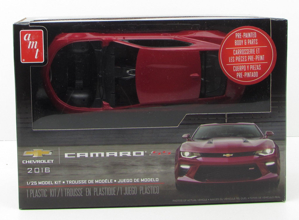 AMT 1020 2016 Chevy Camaro New Plastic Model Car Kit 1/25 - shore-line-hobby