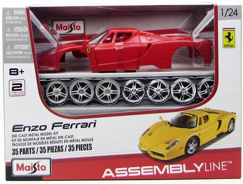 Maisto Enzo Ferrari 39964 1/24 New Metal Body Model Car Kit