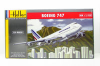 Heller 80459 Boeing 747 Air France  New Airplane Plastic Model Kit - shore-line-hobby